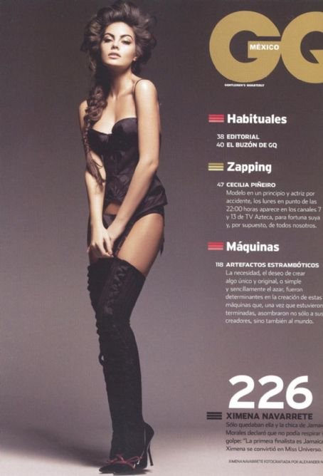 Ximena Navarrete  GQ Magazine Pictorial November 2010