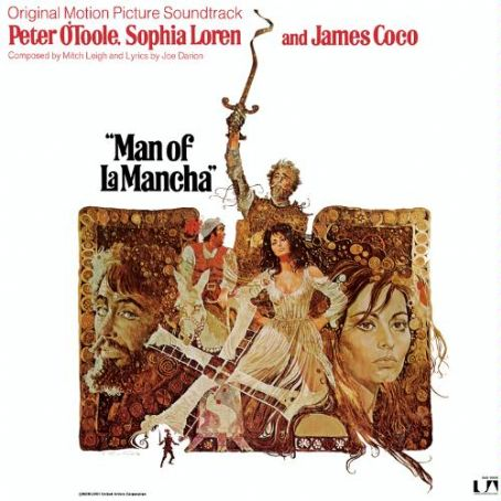 Peter O'Toole - Man Of La Mancha. Film Poster Of The HIT Broadway Musical