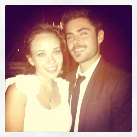 Zac Efron attended the wedding of producer Kevin Turen and Evelina Oboza last night, June 23, in New Jersey