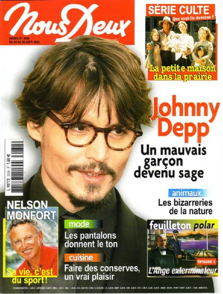 Johnny Depp - Nous Deux Magazine [France] (August 2005)