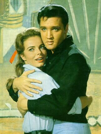 Joan Freeman  With Elvis Presley