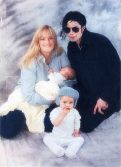 Michael Jackson and Debbie Rowe
