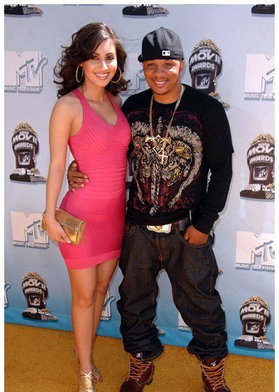 Shane Sparks and Francia Raisa