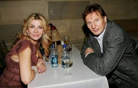 Natasha Richardson - Liam Neeson with Natasha