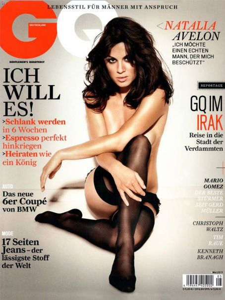 Natalia Avelon GQ Germany May 2011