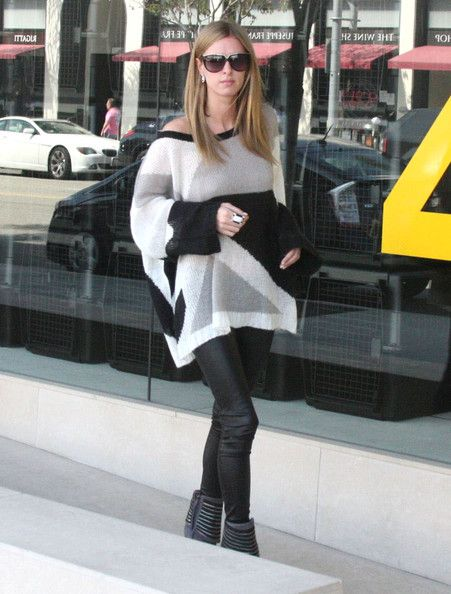 Nicky Hilton out shopping at James Perse in Beverly Hills, California on March 14, 2012
