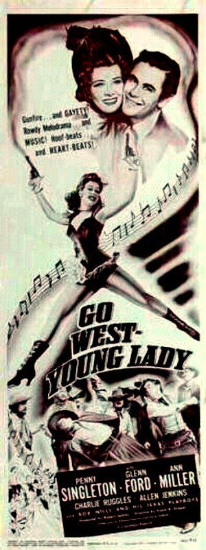 Go West, Young Lady (1941) Poster