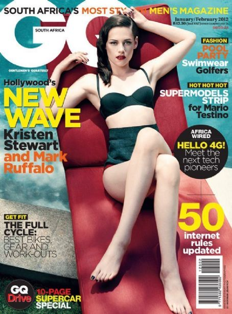 Kristen Stewart - GQ Magazine Cover [South Africa] (February 2012)