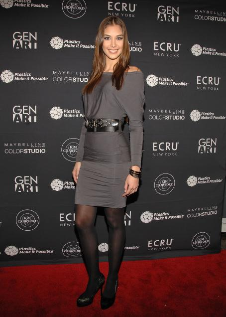 Dayana Mendoza - Gen Art's The New Garde Fashion Presentation, 10 February 2010