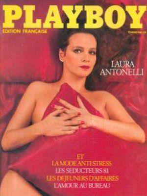 Laura Antonelli, Playboy Magazine February 1981 Cover Photo - France