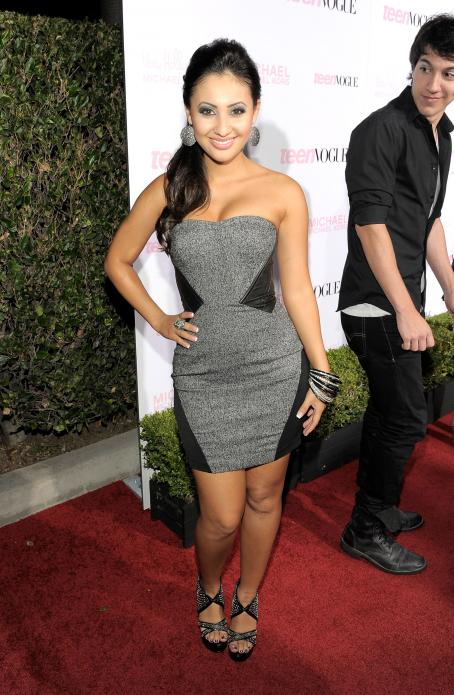 Francia Raisa - 8 Annual Teen Vogue Young Hollywood Party at Paramount Studios on October 1, 2010 in Hollywood, California