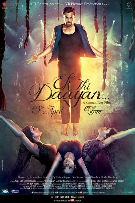 Huma Qureshi Ek Thi Daayan 2013 movie new posters