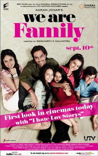 Arjun Rampal WE R FAMILY