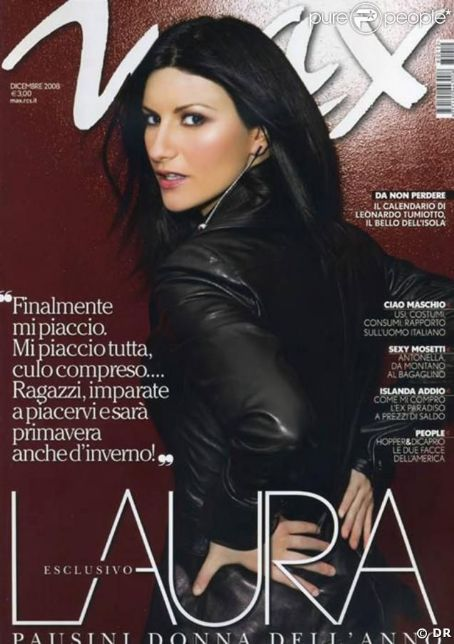 Laura Pausini - OTHER Magazine Cover [Italy] (1 December 2008)