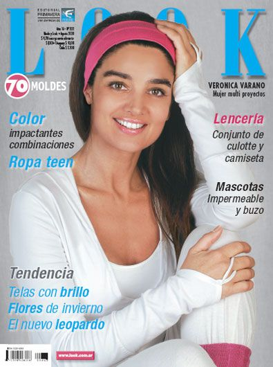 Verónica Varano - Look Magazine Cover [Argentina] (August 2008)