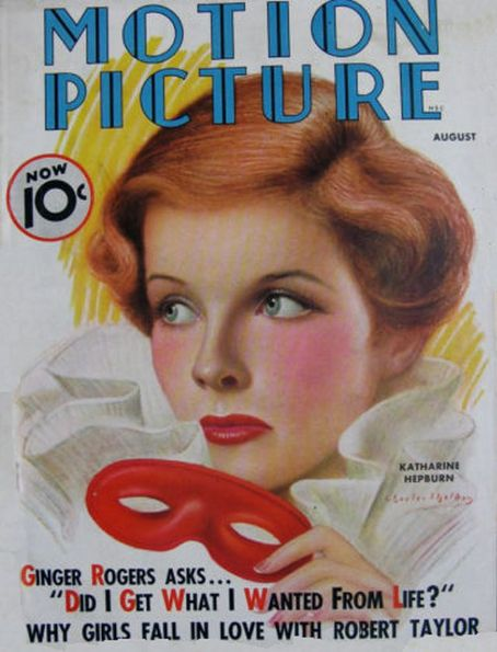 Katharine Hepburn - Motion Picture Magazine [United States] (September 1936)