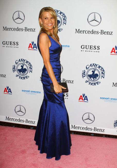 Vanna White-32 Anniversary Carousel Of Hope Gala At The Beverly Hilton Hotel On October 23, 2010 In Beverly Hills, California