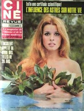 Senta Berger - Cine Tele Revue Magazine [France] (5 March 1970)