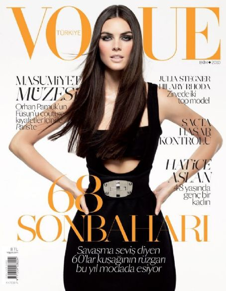 Hilary Rhoda - Vogue Magazine [Turkey] (October 2010)