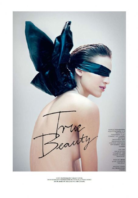 True Beauty | Vanessa Axente by Istvan Labady for The Room #13 Spring/Summer 2011