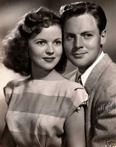 John Agar and Shirley Temple - John Agar And Shirley Temple