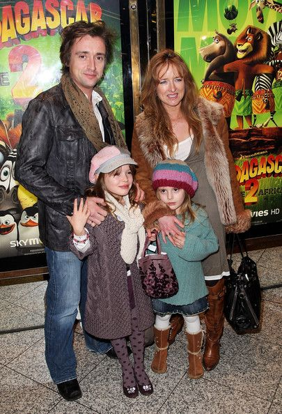 Richard Hammond and Mindy Etheridge - Television presenter Richard Hammond and wife Mindy Hammond are joined by their children Izzy and Willow