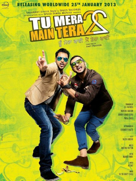 Yo Yo Honey Singh New Tu Mera 22 Main Tera 22 posters