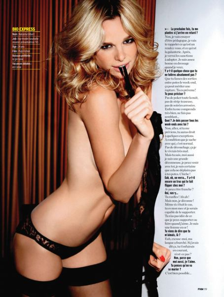 Natasha Gilbert  FHM Magazine Pictorial November 2010 France