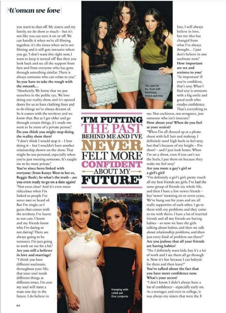 Kim Kardashian Cosmopolitan UK May 2012