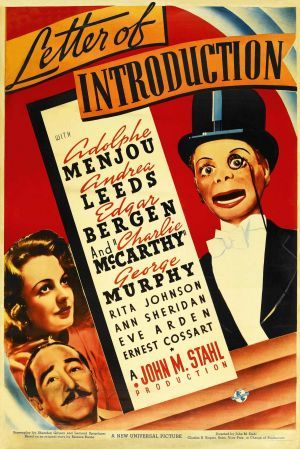 Letter of Introduction (1938) Poster