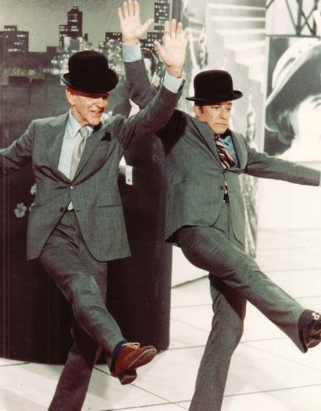 Fred Astaire - Fred with Gene Kelly