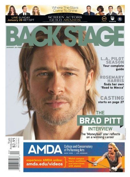 "Brad Pitt Feels ""Privileged"" To Be a Storyteller"