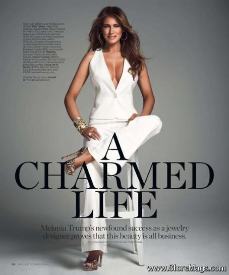 Melania Trump - Philadelphia Style Magazine Pictorial [United States] (December 2011)