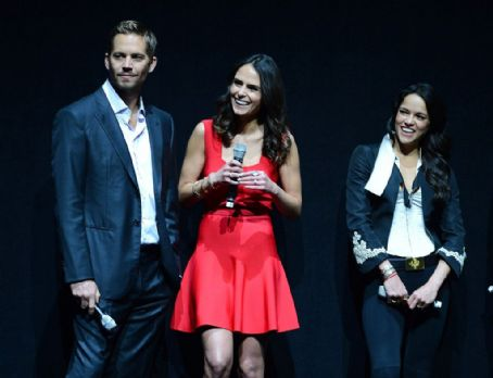 Paul Walker and Jordana Brewster CinemaCon: Day 2