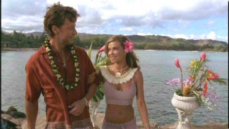 Lani McKenzie Carmen Electra and John Allen Nelsoni in Twentieth Century Fox's Baywatch: Hawaiian Wedding - 2003