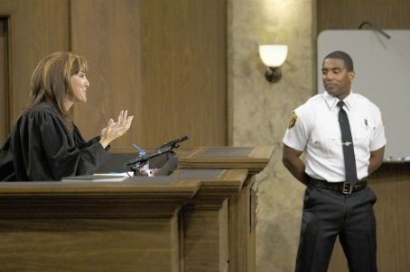 Judge Marilyn Milian With Bailiff Douglas McIntosh