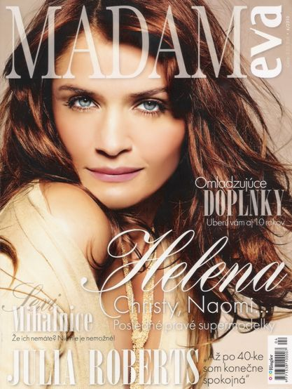 Helena Christensen - Madam Eva Magazine [Slovakia] (April 2010)