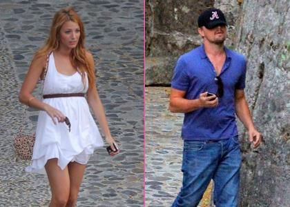 Blake Lively & Leo DiCaprio's Night Out In Southern France
