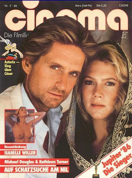 Michael Douglas - Cinema Magazine [Germany] (March 1986)