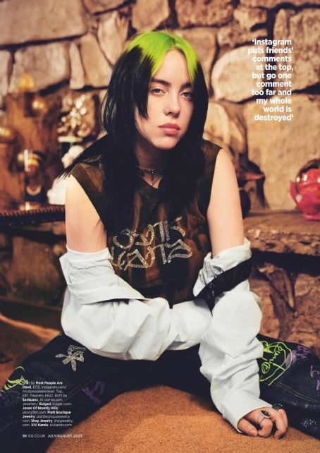 Billie Eilish – British GQ Magazine (July 2020)
