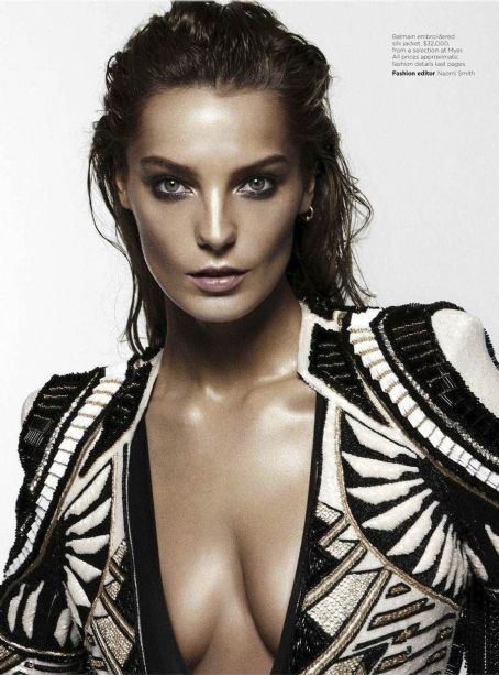 Daria Werbowy Vogue Australia June 2012