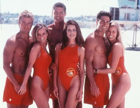 Michael Bergin Promos For Baywatch In 1998