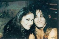 Vanity and Nikki Sixx