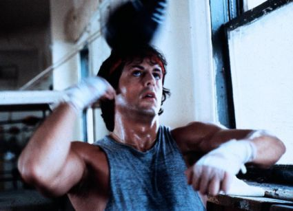 Rocky Balboa Sylvester Stallone as  in Rocky (1976)