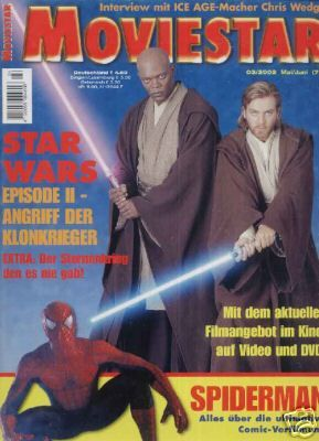 Samuel L. Jackson - Movie Star Magazine [Germany] (May 2002)