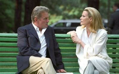 The Sentinel Michael Douglas and Kim Basinger