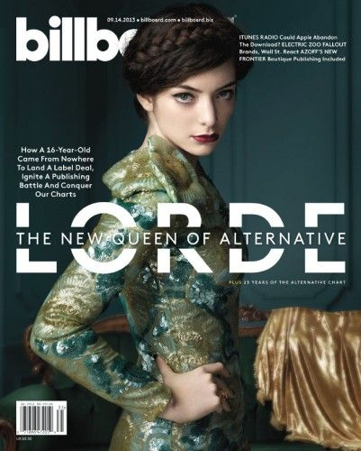 Lorde  - Billboard Magazine Pictorial [United States] (14 September 2014)