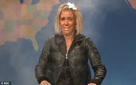 Patricia Krentcil Shining out: Krentcil was spoofed in a Saturday Night Live sketch by actress Kristen Wiig