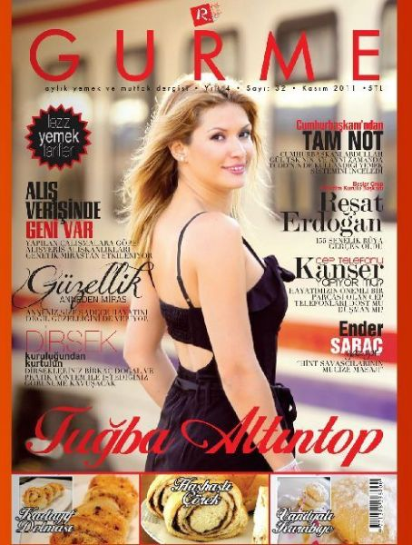 Tugba Altintop - Gurme Magazine Cover [Turkey] (November 2011)