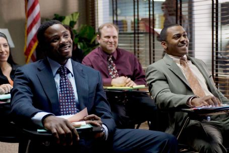 RonReaco Lee Joshua Hardaway (Derek Luke, left) and Chuck () in TYLER PERRY'S MADEA GOES TO JAIL. Photo credit: Alfeo Dixon.